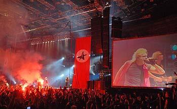 Рамштайн имитация гомосексуального акта на сцене на сцене петербургского скк