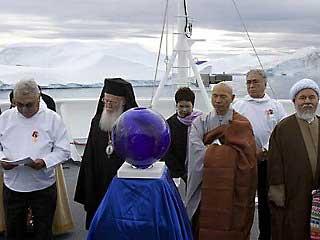 """Молитва о планете"" в Арктике. 2007 г."
