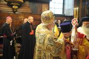 Литургия в Свято-Троицкой греческой церкви в Вене. 26 сентября. Митр. Иоанн Пергамский
