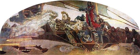 М. Врубель. Принцесса Греза. 1896 г.