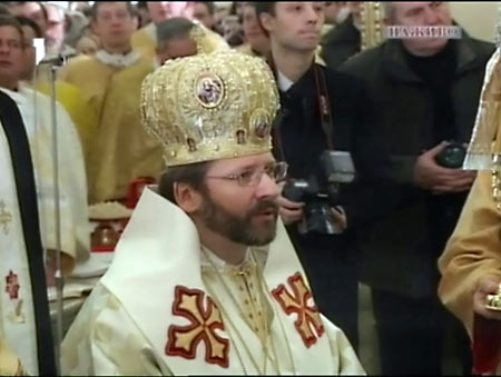 Святослав Шевчук объявил о создании Львовской униатской митрополии