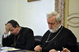 Кардинал Кох и митр. Иоанн Пергамский