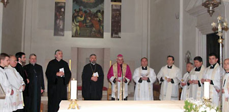 Экуменическое моление в Дубровнике 18 января 2012 г.