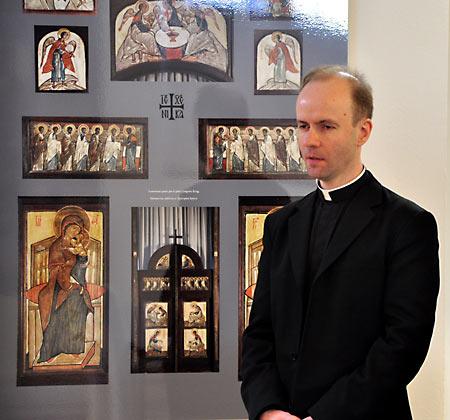 Известный экуменический деятель доминиканец Иасинт Дестивель выступил 4 февраля в Русской семинарии во Франции с докладом
