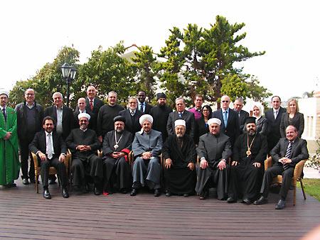 Заседание Межрелигиозного совета Ближнего Востока