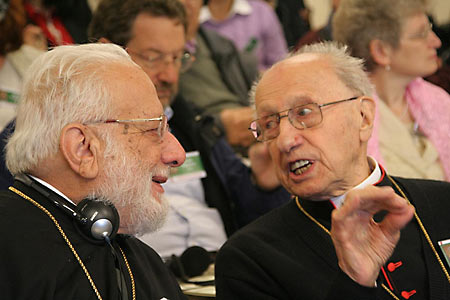 митр. Георгий (Ходр) и кардинал Роже Эчегарай