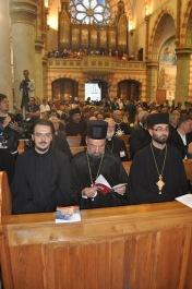 Православная делегация на мессе в католическом соборе