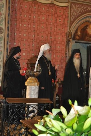 Еп. Григорий (Дурич), Патриарх Ириней и еп. Бачский Ириней