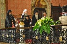 Еп. Григорий (Дурич), Патриарх Ириней и еп. Бачский Ириней в алтаре католического собора