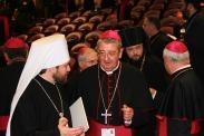 С ирландским кардиналом Мартином
