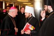 С кардиналом Винченцо Палья