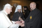 Митр. Иларион. папа и о. Алексий Дикарев