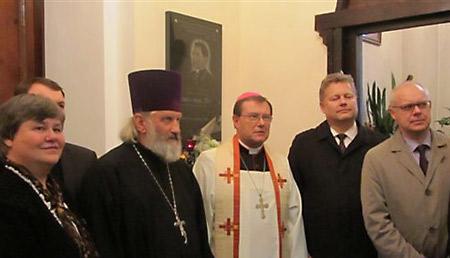 В центре: о. Георгий Горбачук и Паоло Пецци