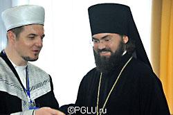 Еп. Пятигорский Феофилакт и муфтий Мордовии Фагим Шафиев