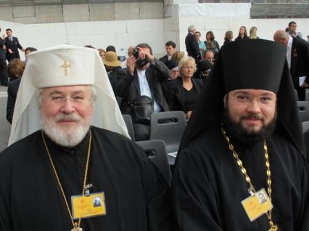 архиеп. Лев Финляндский и о. Антоний (Севрюк)