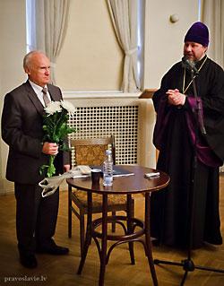 А.И. Осипов в Латвии