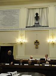 Заседание папской академии наук