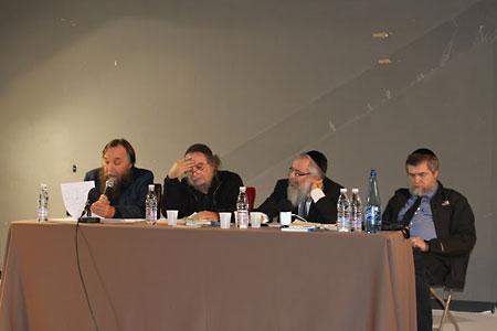 В Париже в январе 2011 г. с Авигдором Эскиным, Лео Гецом, Мордехаем Крики