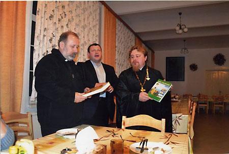 О. Иннокентий (Денщиков) у католических миссионеров