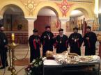 Монофизитская делегация у гроба Игнатия IV