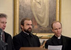 В одной тональности: Иасинт Дестивель и о. Александр Сорокин