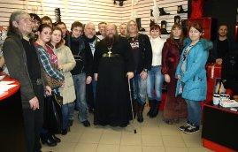 О. Сергий (Рыбко) в Рязани, 2013 г.