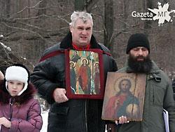 В Липецке православные протестовали против кощунственной рок-оперы