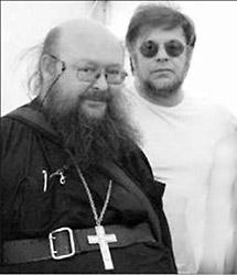 О. Сергий (Рыбко) и Борис Гребенщиков