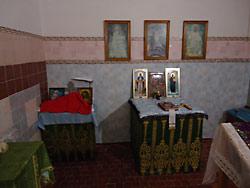 Молитвенная комната св. вмч. и целителя Пантелеимона