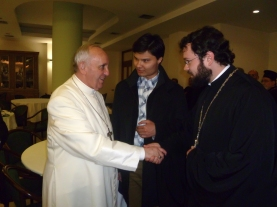 Франциск, переводчик и о. Антоний (Севрюк),
