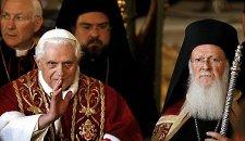 Бенедикт XVI и Варфоломей