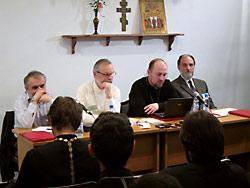О. Андрей Мояренко на конференции секты о. Кочеткова в  мае 2012 г.