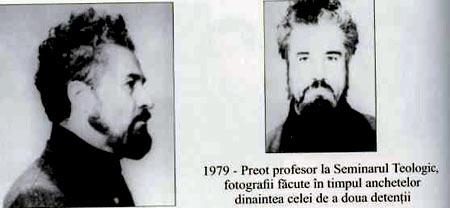 Отец Геогрий Кальшю. 1979 г., тюремная фотография