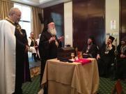 Митр. Дамаскин Велестинский (Элладская Православная Церковь) на собрании греческих тамплеров.