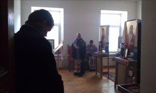 Иосиф Верт в униатской часовне