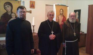 Кирилл Миронов, Иосиф Верт, Кристофер Гардинер (слева направо)