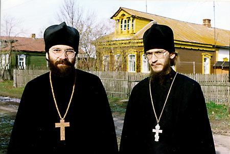 Игнатий Крекшин и иеромонах Амвросий (Тимрот)