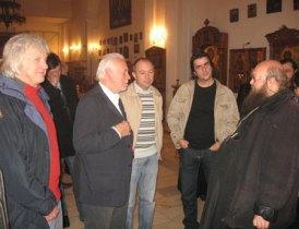 рок-группа Procol Harum в храме Сошествия Св. Духа на Лазаревском кладбище. 2009 г.