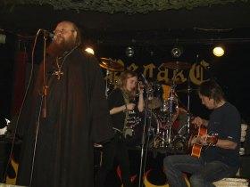 На концерте «Теплой трассы» в клубе «Релакс». 2009 г.