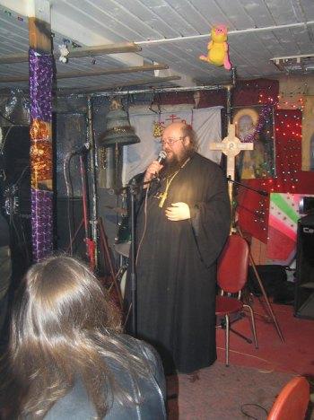 В Молодежном Культурном центре во имя св. блж. Ксении Петербургской. 2009 г.