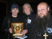 С гитаристом Джо Сатриани в клубе «Б1». 2008 г.