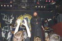 """В """"Р-клубе"""" 24 июня 2004 г. Первая проповедь в рок-клубе."""