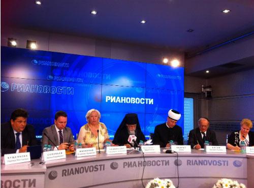 Вчера в Москве прошла пресс-конференция, посвященная предстоящему Дню семьи, любви и верности (8 июля), посвященному свв. Петру и Февронии.