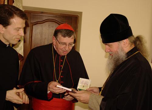 11 июня по инициативе кардинала Курта Коха состоялась встреча Коха с архиеп. Феодором Мукаческим и Ужгородским. Во время встречи, проходившей в епархиальном управлении, стороны обсудили межконфессиональные отношения.
