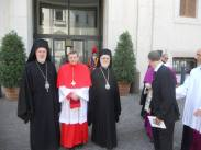 Еп. Афинагор, кардинал Кох, митр. Иоанн (Зизиулас)