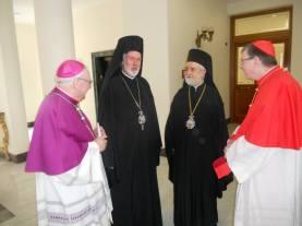 Еп. Афинагор, митр. Иоанн Пергамский, кардинал Кох