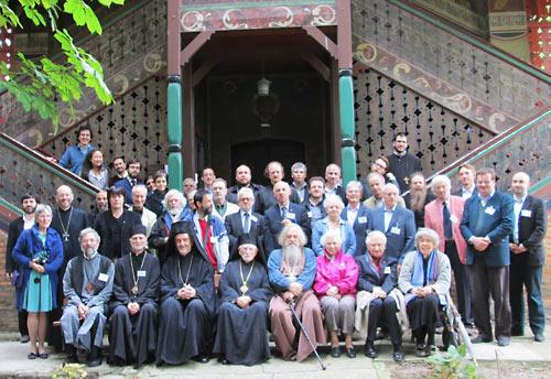 """60-я """"Литургическая неделя"""" прошла в Парижским богословском институте. 2013 г."""