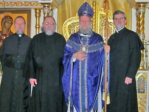 Еп. Иероним (Шоу) и духовенство «западного обряда»