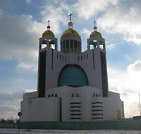 новый униатский собор в Киеве