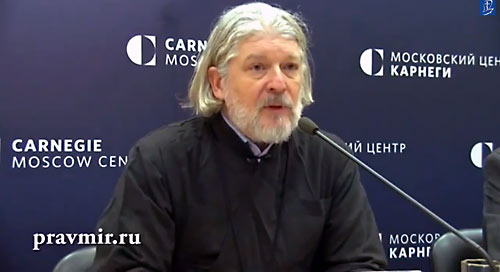 Отец Алексий Уминский, Центр Карнеги.